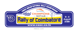 Rally of Coimbatore logo